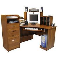 Компьютерный стол С225 с надстройкой, фото 1