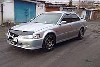 Боковые дефлекторы Honda Accord VI Sd 1998-2002/Torneo Sd 1997-2002 (Хонда Аккорд) Cobra Tuning