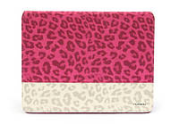 Nuoku LEO stylish leather case for iPad 2/3/4, pink