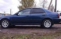 Боковые дефлекторы Honda Civic V Sd 1991-1995 (хонда Сивик) Cobra Tuning