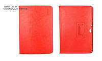 HOCO leather case for Samsung P7500 Galaxy Tab 10.1, red
