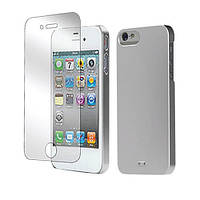 Tunewear Eggshell Pearl cover case for iPhone 5/5S, silver (IP5-EGG-SHELL-P01)