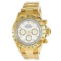 Мужские часы Rolex Daytona - COSMOGRAPH, механические с автозаводом, золотистые