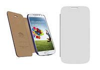 ICover Carbio series book case for Samsung i9190 Galaxy S IV Mini, white (GS4M-FC-WT)