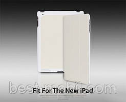 Yoobao iSlim leather case for iPad 2/3/4, white (LCAPIPAD3-SLWT)