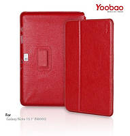 """Yoobao Executive leather case for Samsung N8000 Galaxy Note 10.1"""", red (LCSAMN8000-ED)"""