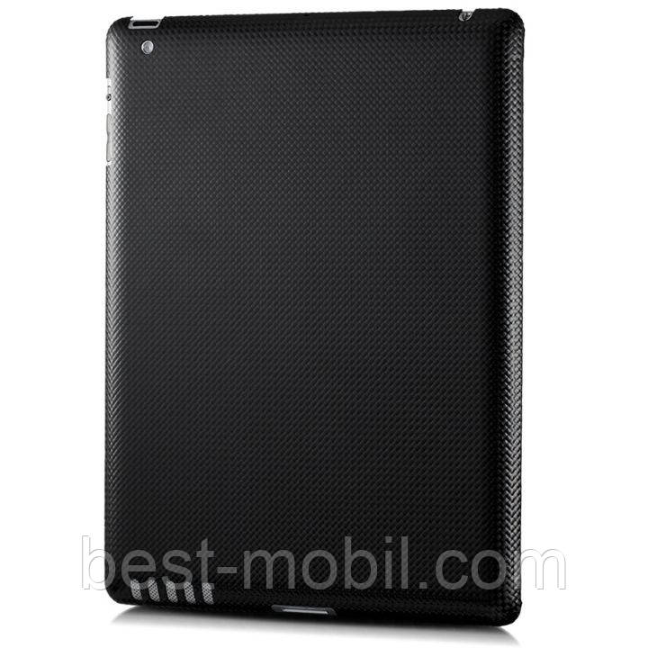 MonCarbone Smartt Mate back cover for iPad 2, mystery black (SM001MY)