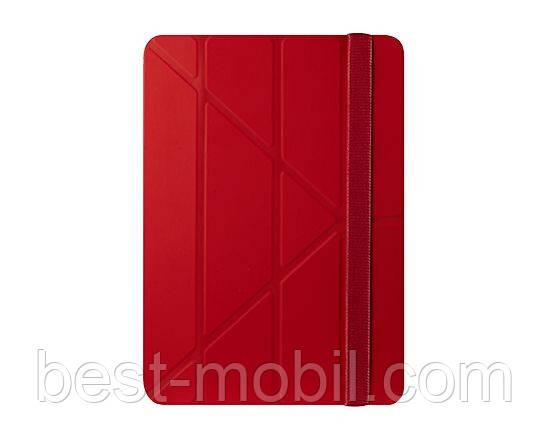 Multi-angle smart case for iPad Air 2, red Ozaki