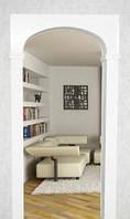 Межкомнатная арка Прима-Эллипс 40 см, Проем 80 см,делаем любой размер