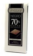 Шоколад Torras negro (черный) 70% какао Испания 200г
