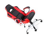 Офисное компютерное кресло RACER PROMO красно-черное