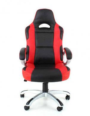 Офисное компютерное кресло RACER PROMO красно-черное, фото 2
