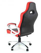 Офисное компютерное кресло RACER PROMO красно-черное, фото 3
