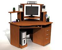 Компьютерный стол С215 с надстройкой, фото 1