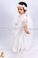 Прокат в Запорожье костюм Ангелочка с крыльями детский 3-5 лет