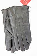Мужские кожаные перчатки с овчинным мехом w019