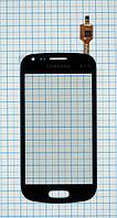 Тачскрин сенсорное стекло для Samsung S7562 Galaxy S Duos black