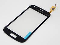 Тачскрин сенсорное стекло для Samsung S7562 Galaxy S Duos High Copy blue