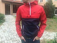 Анорак мужской Nike, красно-синий M