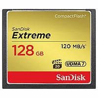 Карта памяти SANDISK 128GB Compact Flash Extreme (SDCFXSB-128G-G46)