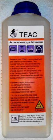 Шампунь для бесконтактной мойки Теас - 1л.
