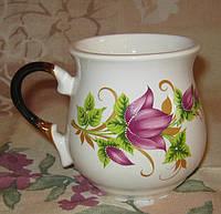 Чашка бочонок (лотос)