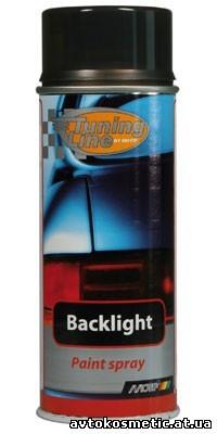 Лак для тонировки фонарей MOTIP чёрный 400мл.