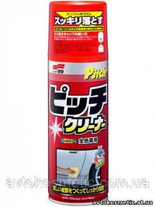 SOFT 99 New Pitch Cleaner- очиститель битумных пятен с полиролью