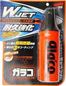 """Soft 99 Glaco """"W"""" Jet Strong - Водоотталк. полироль-покрытие для стекла"""