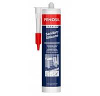 Герметик PENOSIL Premium Sanitary Silicone, белый или прозрачный, 310 мл