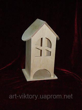 Чайный домик для декупажа арка (10 х 10 х 23 см), фото 2
