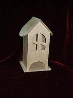 Чайный домик для декупажа арка (10 х 10 х 23 см)