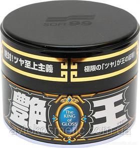 SOFT 99 The King of Gloss for Black & Dark - полироль для придания яркого насыщенного блеска. Оригинал