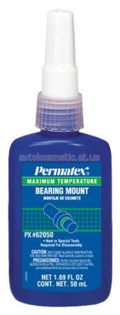 Permatex - Фиксатор втулок, подшипников высокотемпературный 50 мл - зазор до 0,38 мм