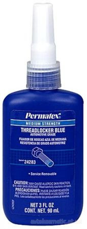Permatex - Фиксатор резьбы средней фиксации синий 90мл.