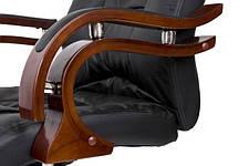 Офисное компютерное кресло PRESIDENT черное, фото 3