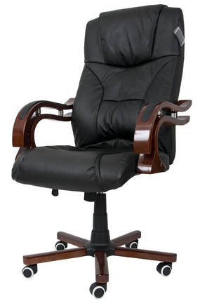 Офисное компютерное кресло PRESIDENT черное, фото 2