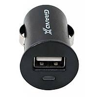 Автомобильное зарядное устройство Grand-X 12-24V, 1*USB 5V/1A (CH-01)