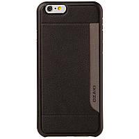 Чехол для моб. телефона OZAKI iPhone 6 O!coat-0.3+Pocket Black (OC559BK)