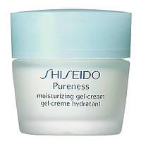 Shiseido Pureness Moisturizing Gel-Cream - Шисейдо Пуренесс крем-гель для лица увлажняющий для нормальной, комбинированной  Баночка, 40мл