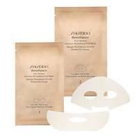 Shiseido Intensive Revitalizing Face Mask - Шисейдо маска с ретинолом для лица 1 упаковка, 4 пакетика с комплектом масок-накладок для лица в кажом