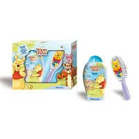 Admiranda Winnie The Pooh - Набор подарочный для детей Адмиранда Винни Пух Набор, Шампунь для волос Winnie The Pooh 250ml+Расческа для волос 2D Winnie