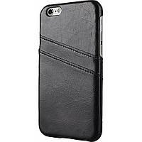 Чехол для моб. телефона Drobak Wonder Cardslot для Apple Iphone 6/Apple Iphone 6s (Black) (219108)