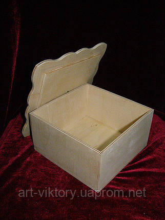 Короб с фигурной крышкой (16 х 16 х 8 см), фото 2