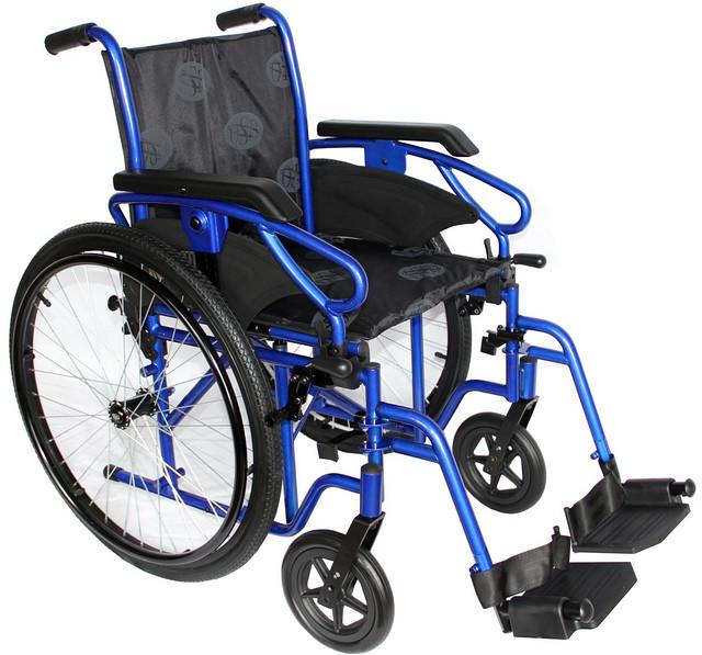 """Инвалидная коляска усиленная OSD Millenium-HD - Медтехника """"Formed"""" — медицинское оборудование, хирургический инструмент, оборудование для инвалидов в Львове"""