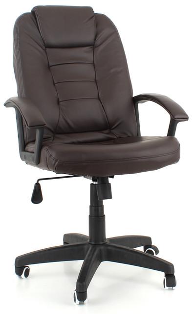 Офисное кожаное кресло EKO 7410 4 цвета