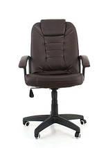 Офисное кожаное кресло EKO 7410 4 цвета, фото 3