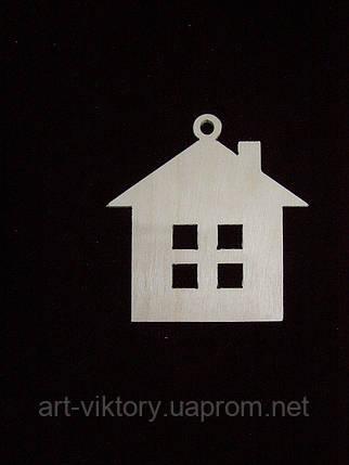 Елочная игрушка домик, фото 2