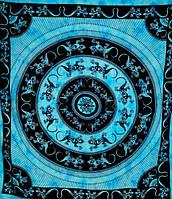 Покрывало Ящерицы голубое