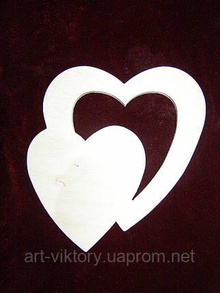 Трафарет Сердце в сердце, фото 2